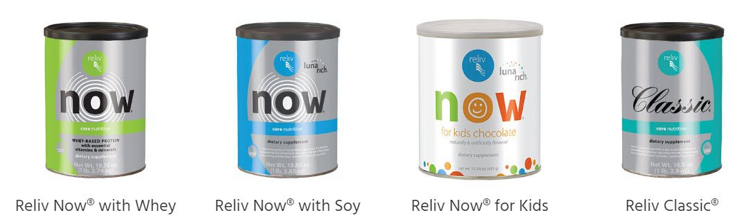 Is Reliv a MLM - nutrition products