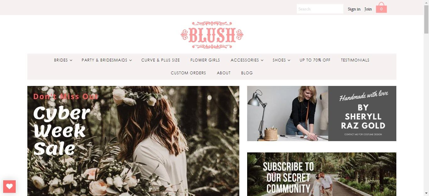 Wedding Affiliate Program - Blush