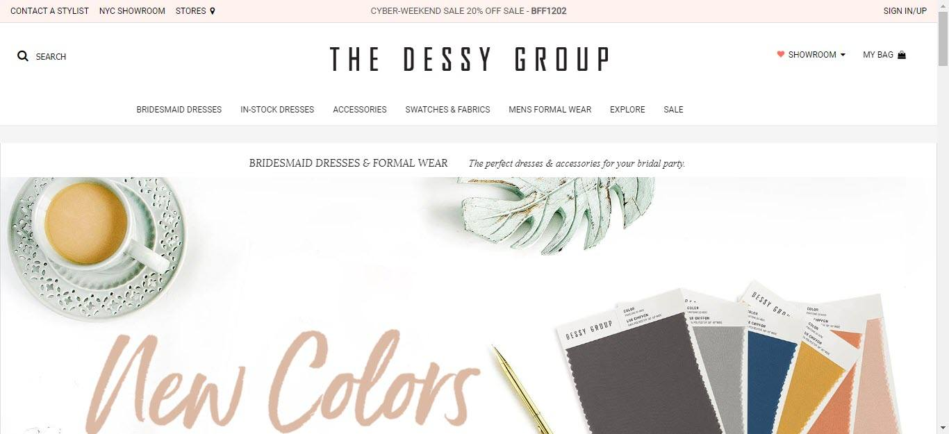 Wedding Affiliate Program - Dessy