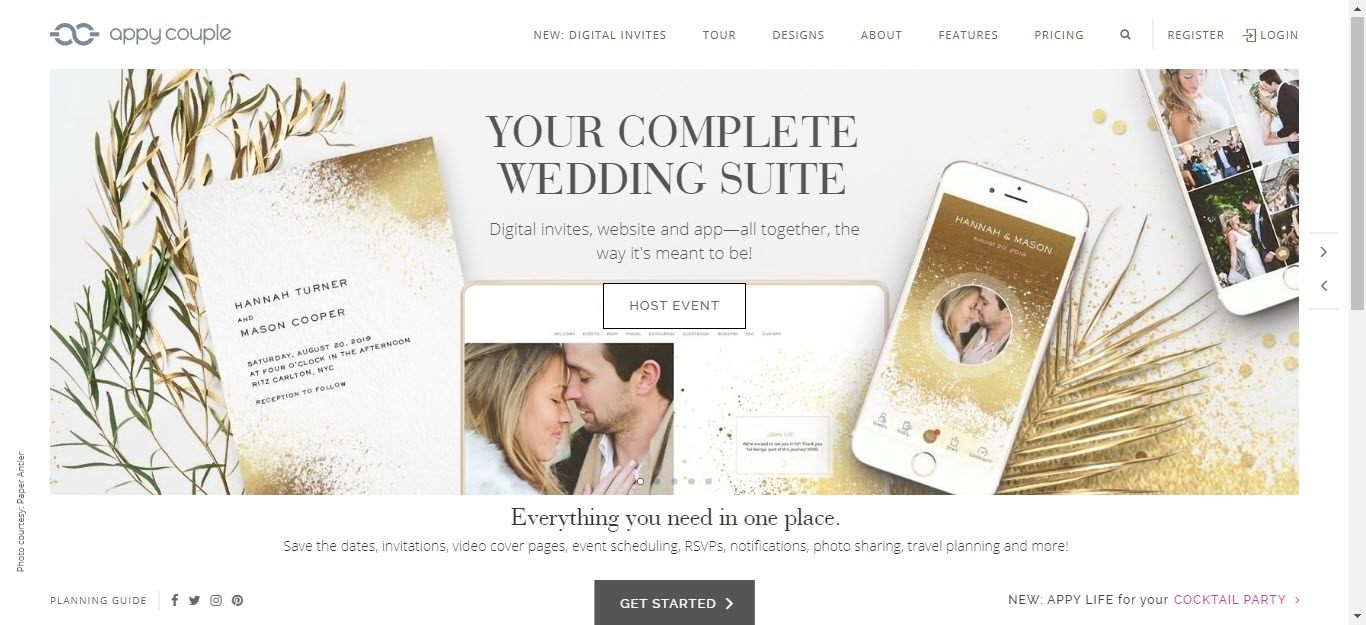 Wedding Affiliate Program - appy couple