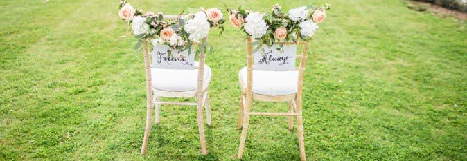 Wedding Affiliate Program - chairs