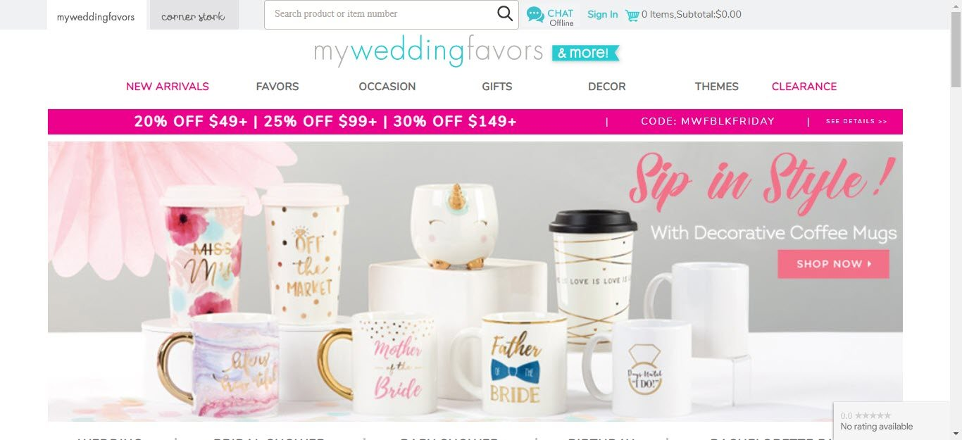 edding Affiliate Program - my wedding favours