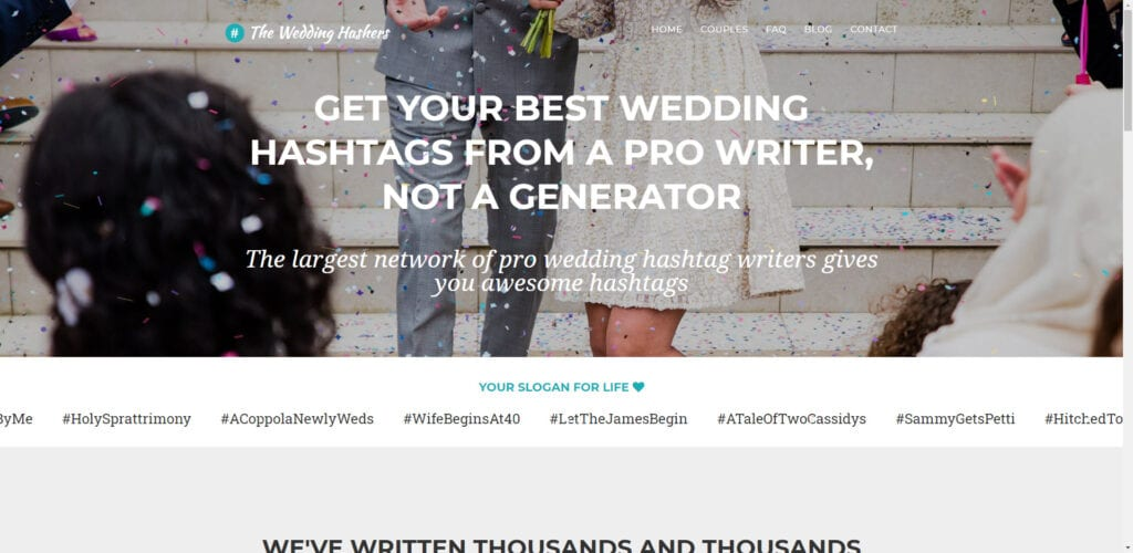 Wedding Affiliate Program - wedding hashers