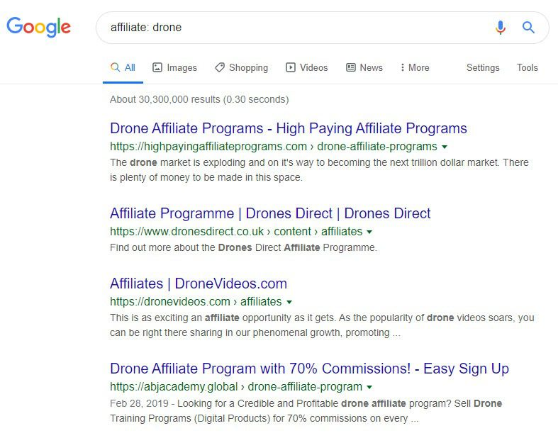 How to Sell Drones Online - drone affiliate