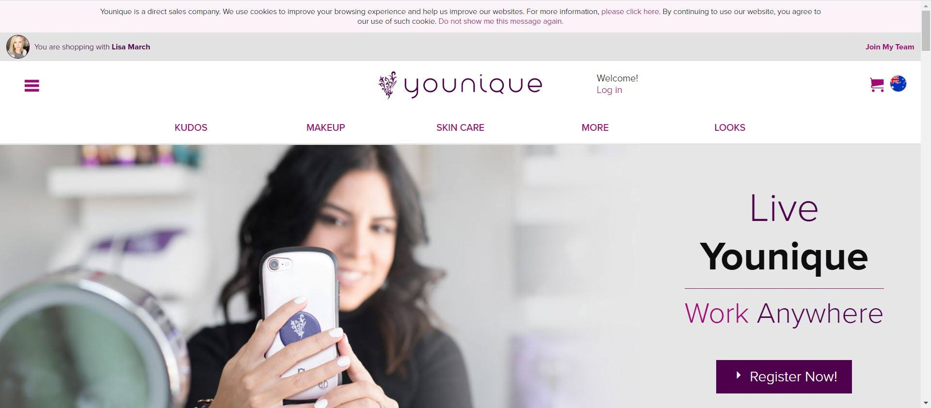 younique MLM review - opportunity
