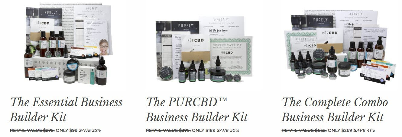 Purely Essential Oils MLM Review - kits