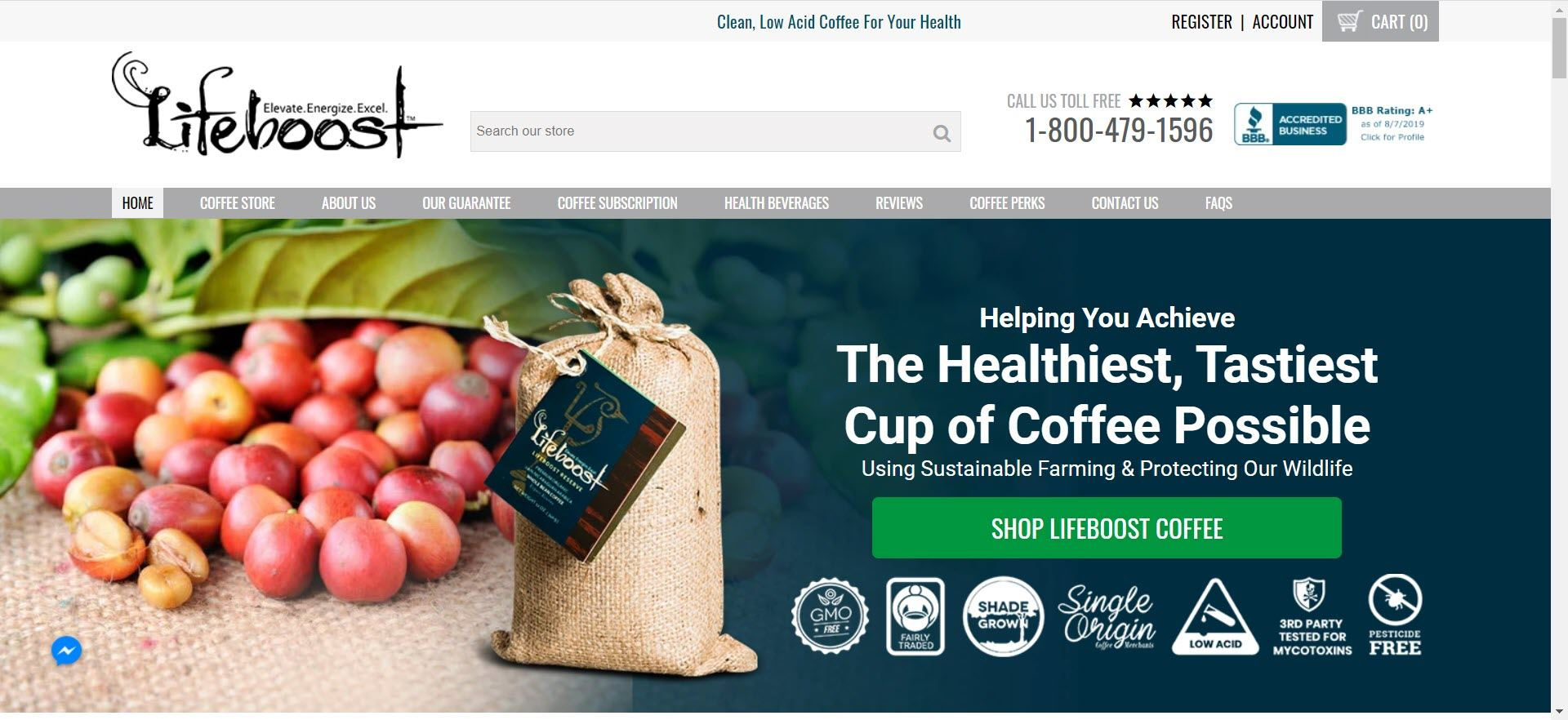coffee affiliate programs - Lifeboost