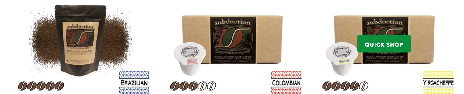 coffee affiliate programs - Subduction stripe