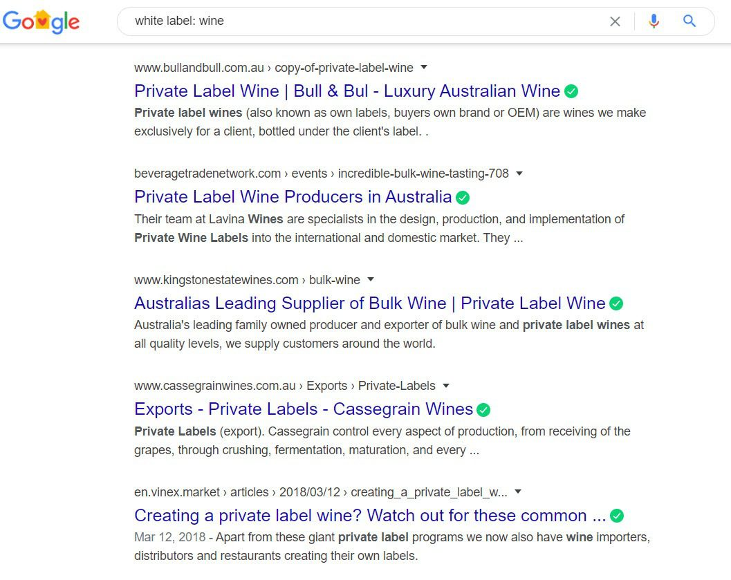 How to Sell Wine Online - White label