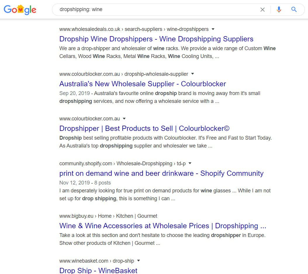 How to Sell Wine Online - drop shipping