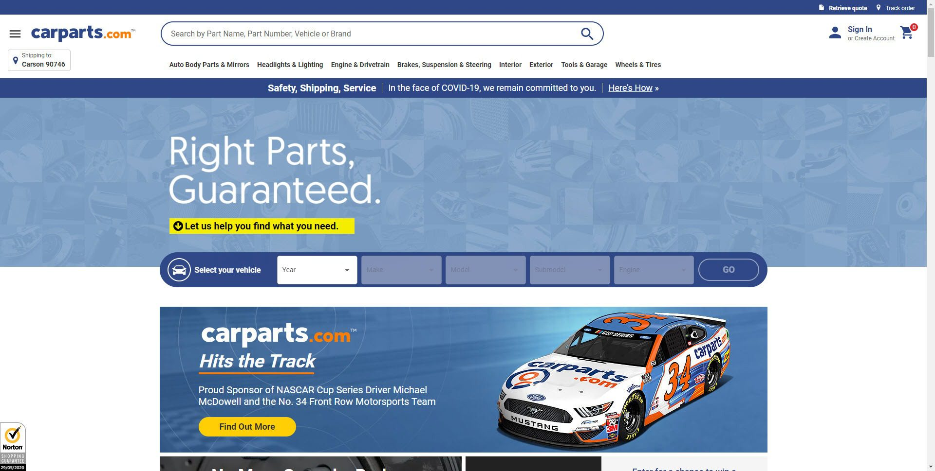 Car Parts Affiliate Programs - carparts.com