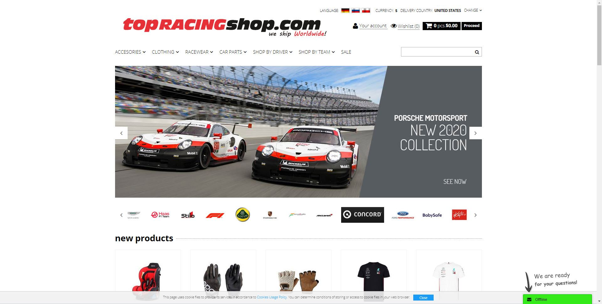 Car Parts Affiliate Programs - topracingshop
