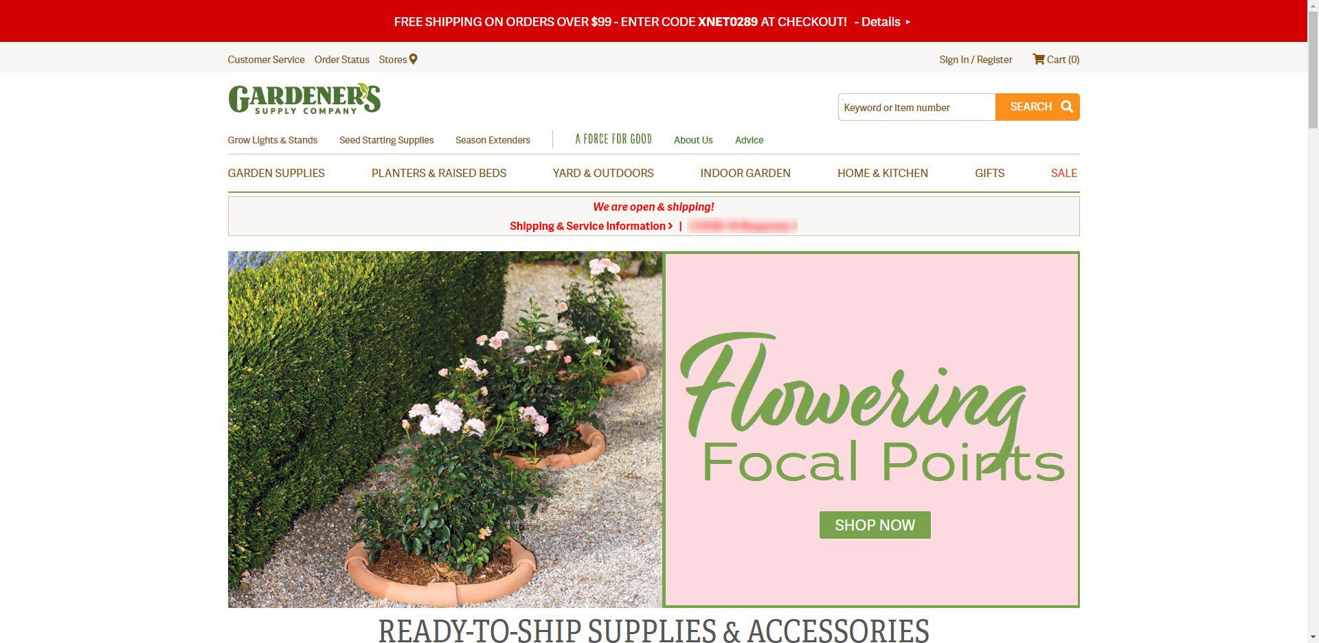 Gardening Affiliate Programs - Gardeners supply co Home