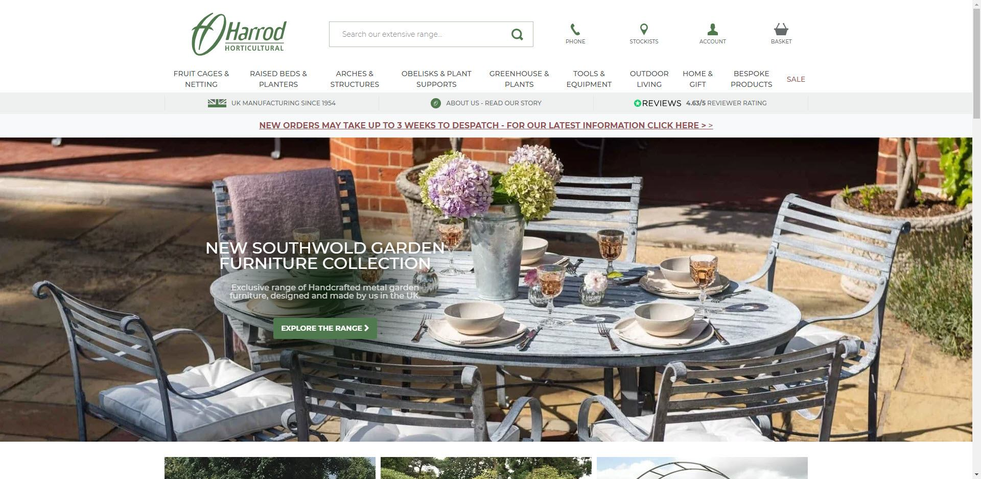 Gardening Affiliate Programs - Harrod Horticultural Home