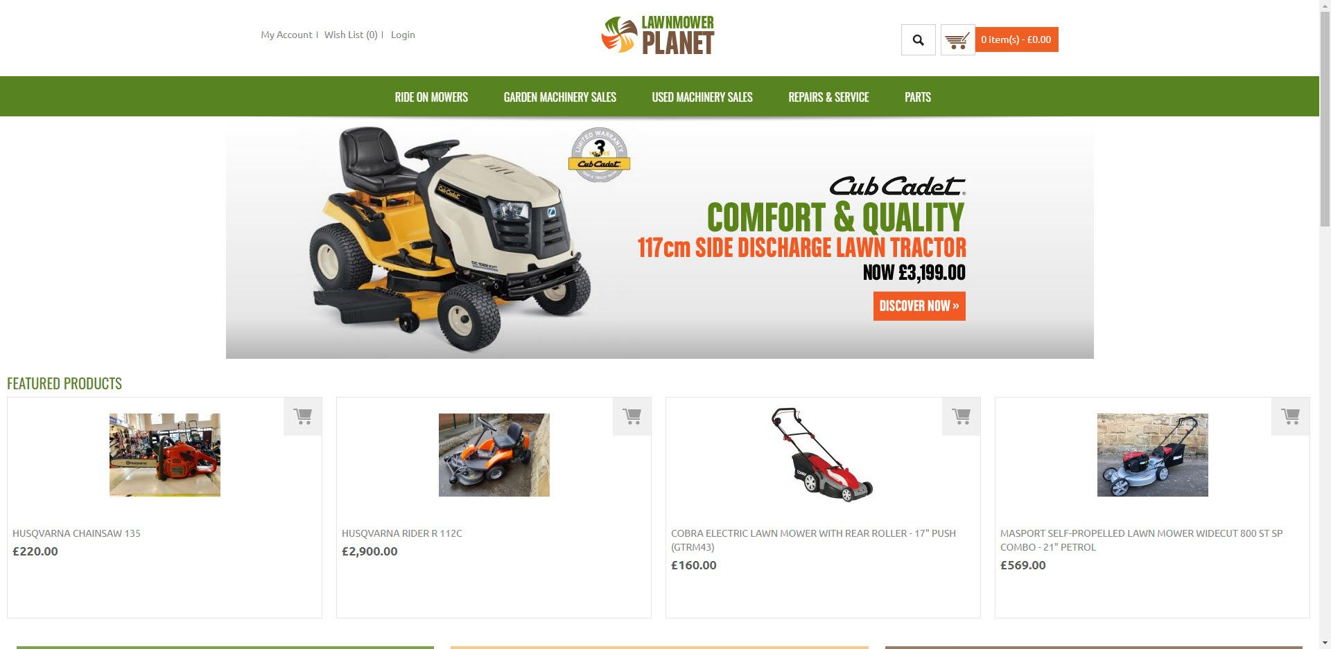 Gardening Affiliate Programs - Lawn Mower Planet Home