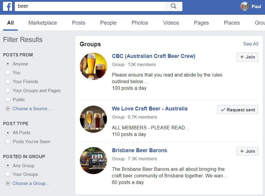 How To Sell Beer Online - FB Groups