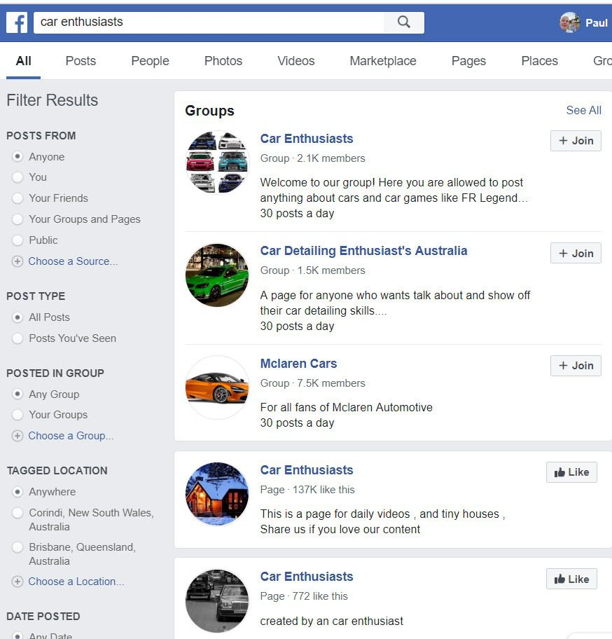How To Sell Car Accessories Online - Car FB Groups