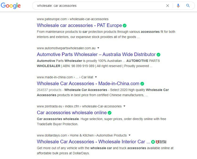 How To Sell Car Accessories Online - accessories wholesale