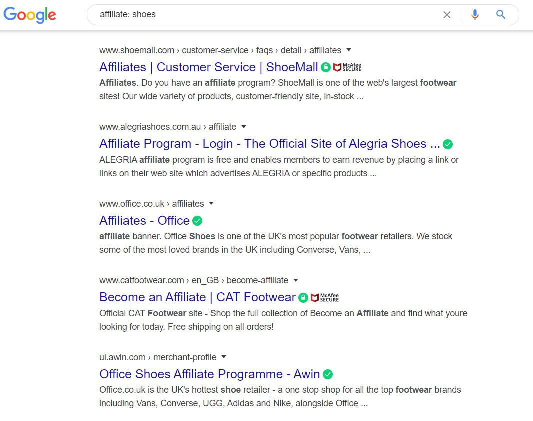 How to Sell Shoes Online - affiliate