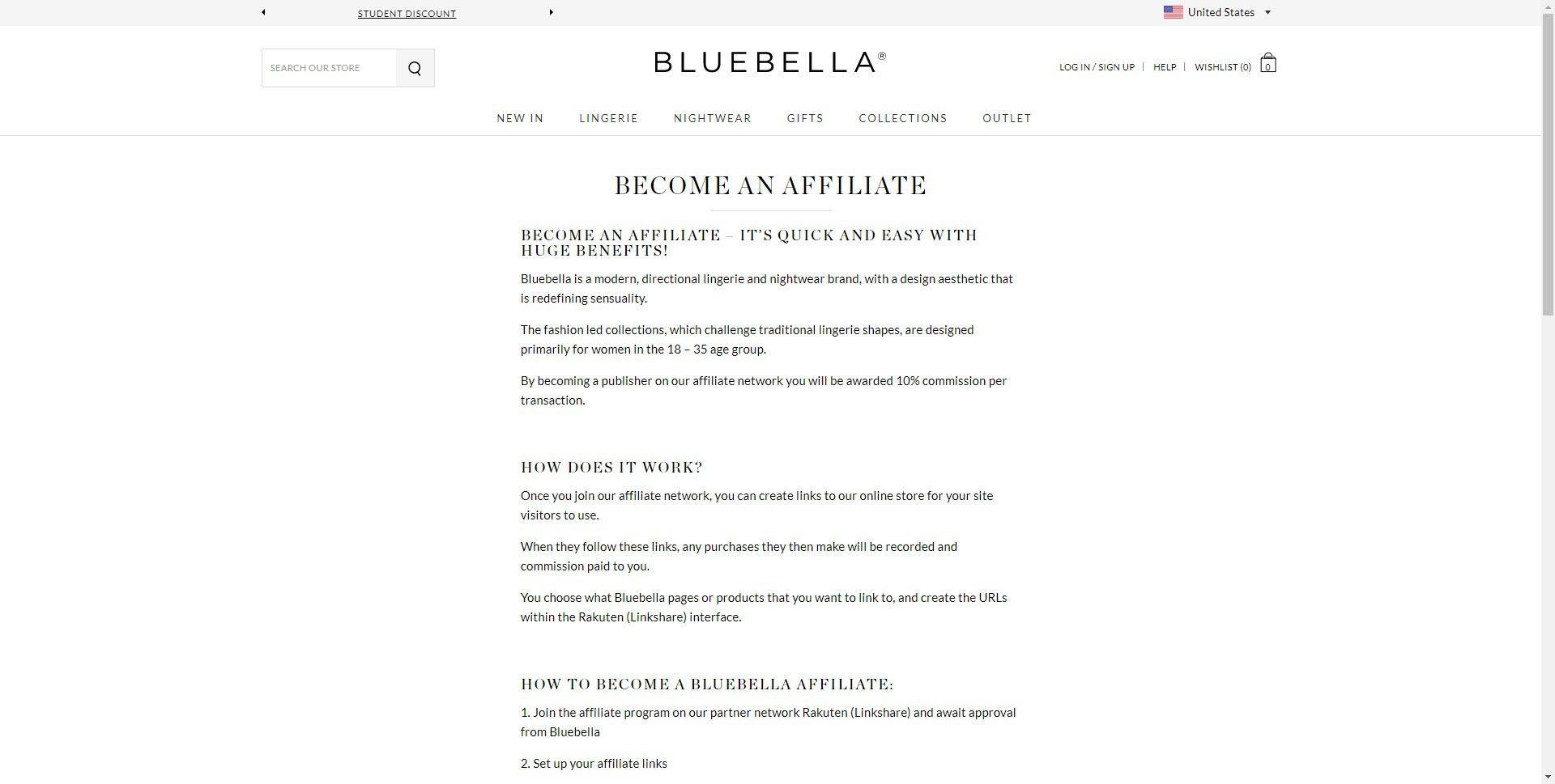 Lingerie Affiliate Programs - Bluebella affiliate