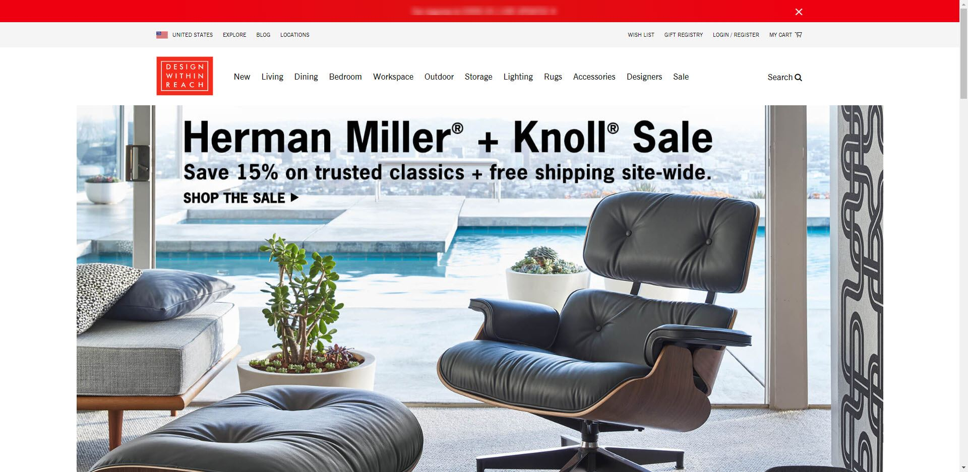 furniture affiliate programs - Design Within Reach Home