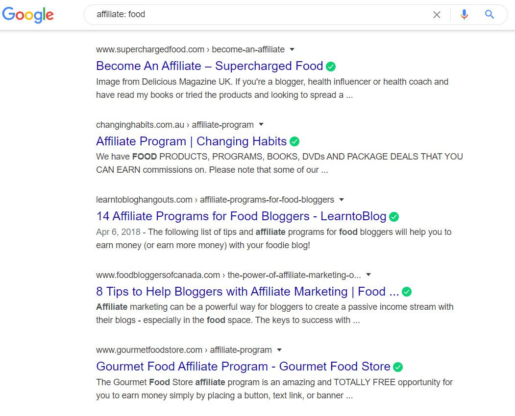 How To Sell Food Online From Home - affiliate program