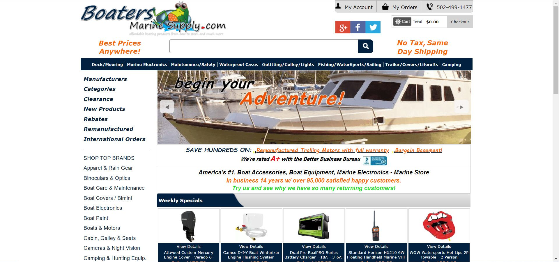 Boat Affiliate Programs - Boaters Marine Supply