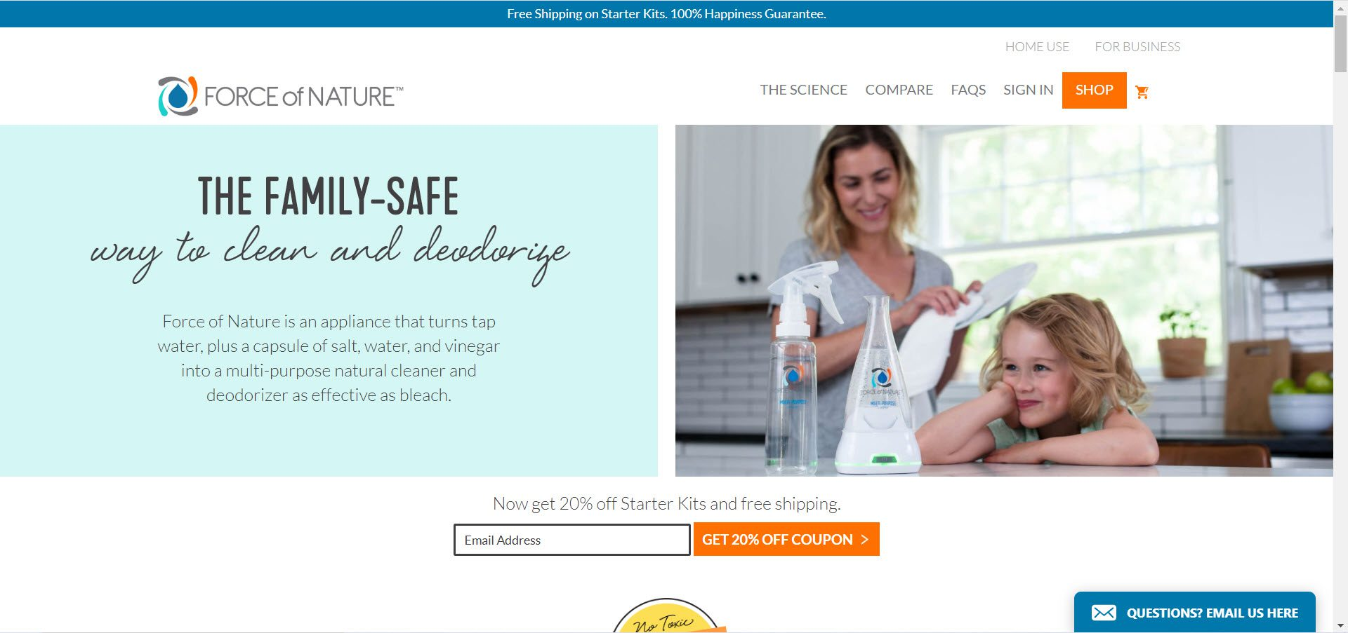 Cleaning Products Affiliate Programs - Force of Nature