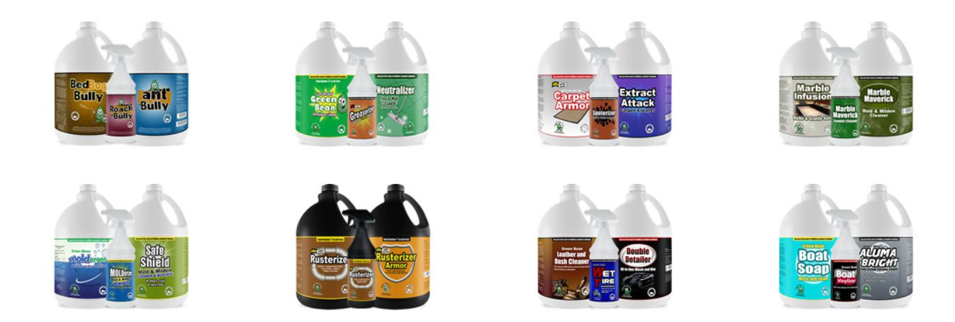 Cleaning Products Affiliate Programs - MyCleaningProducts.com stripe