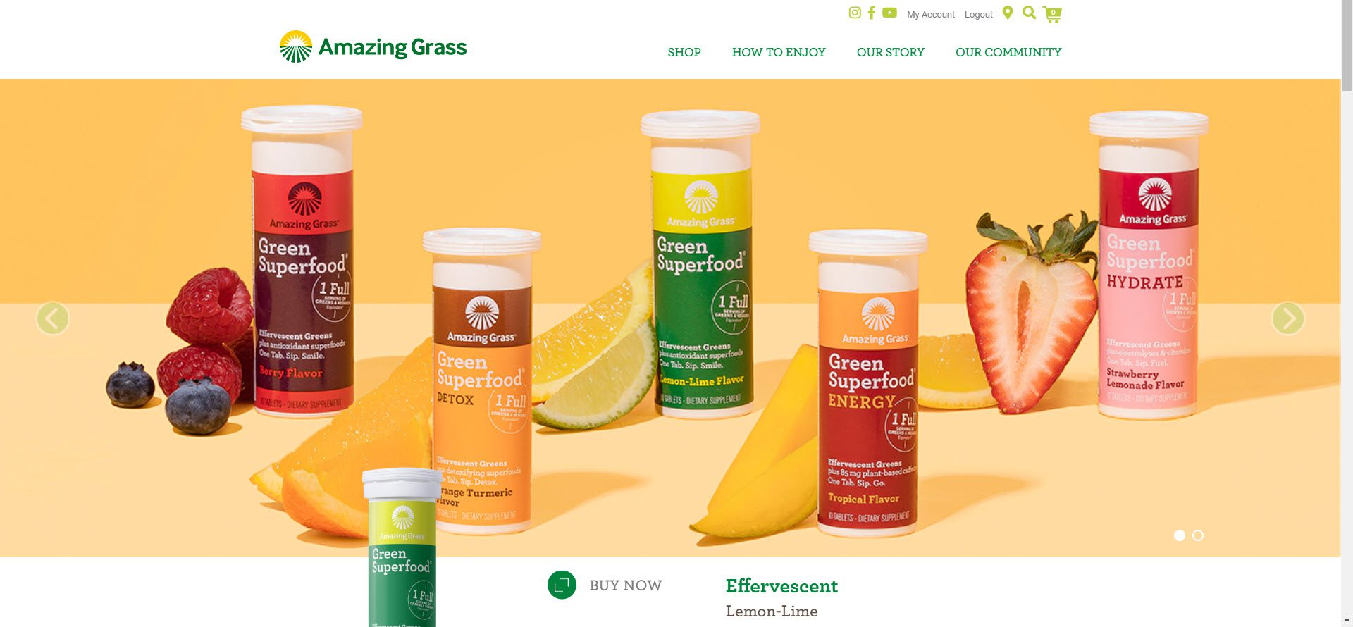 Health Food Affiliate Programs - Amazing Grass
