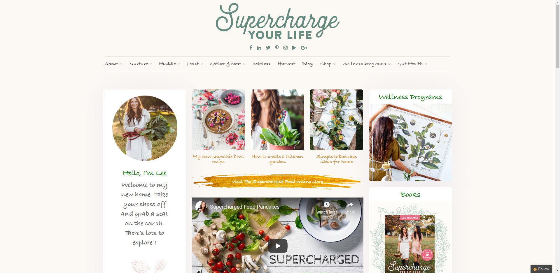 Health Food Affiliate Programs - Supercharged Food