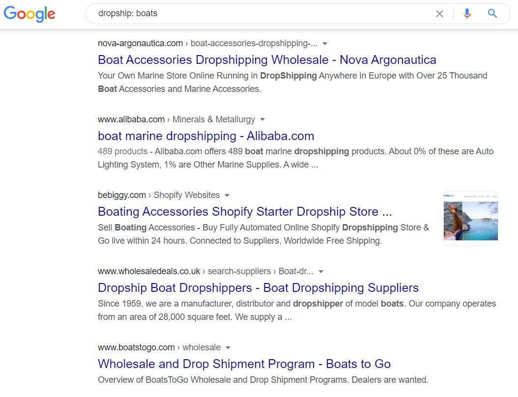 How to Sell Boats Online - dropship - boats