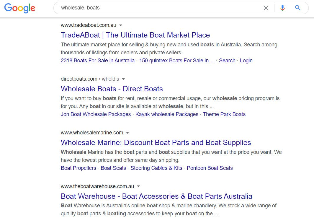 How to Sell Boats Online - wholesale - boats