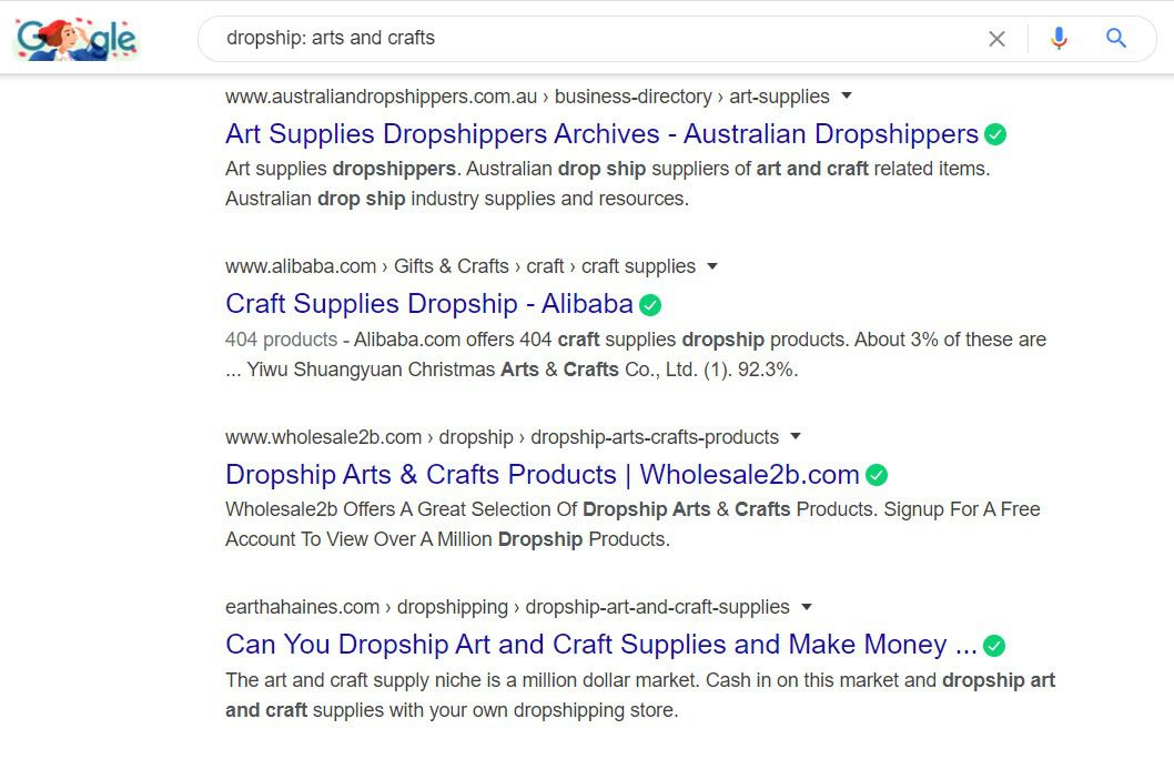 Sell Arts and Crafts Online - Arts and crafts dropshipping