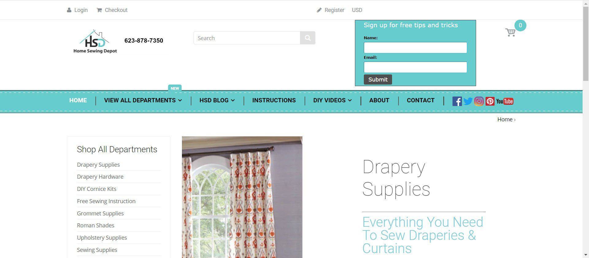 sewing affiliate programs - Home Sewing Depot