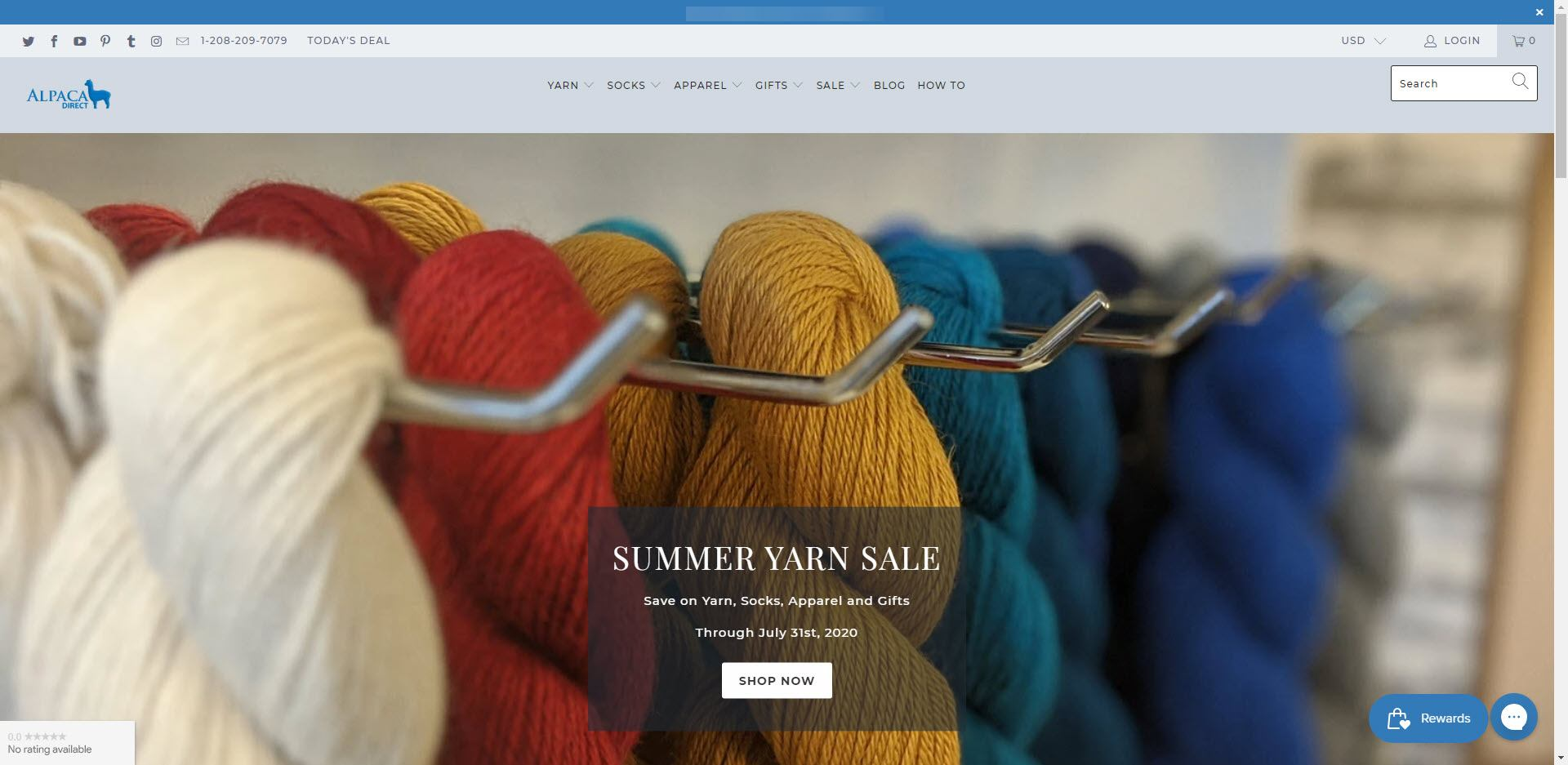 Knitting Affiliate Programs - Alpaca Direct