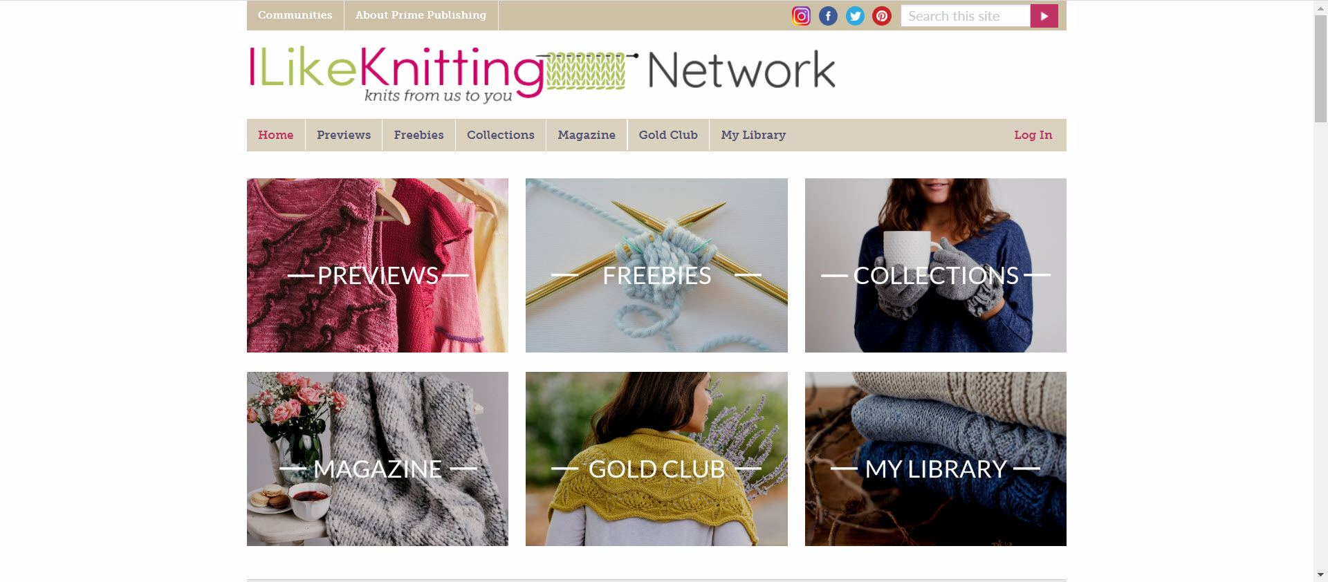 Knitting Affiliate Programs - I like knitting