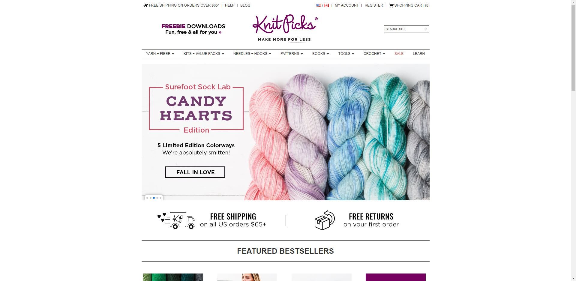 Knitting Affiliate Programs - Knit Picks