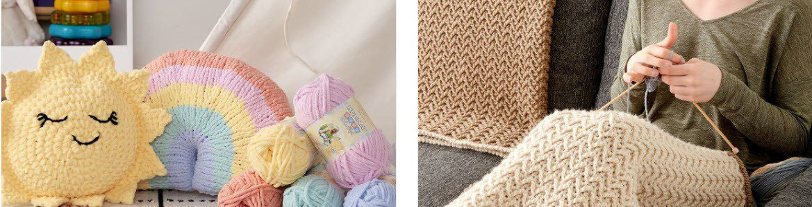 Knitting Affiliate Programs - Yarnspirations stripe