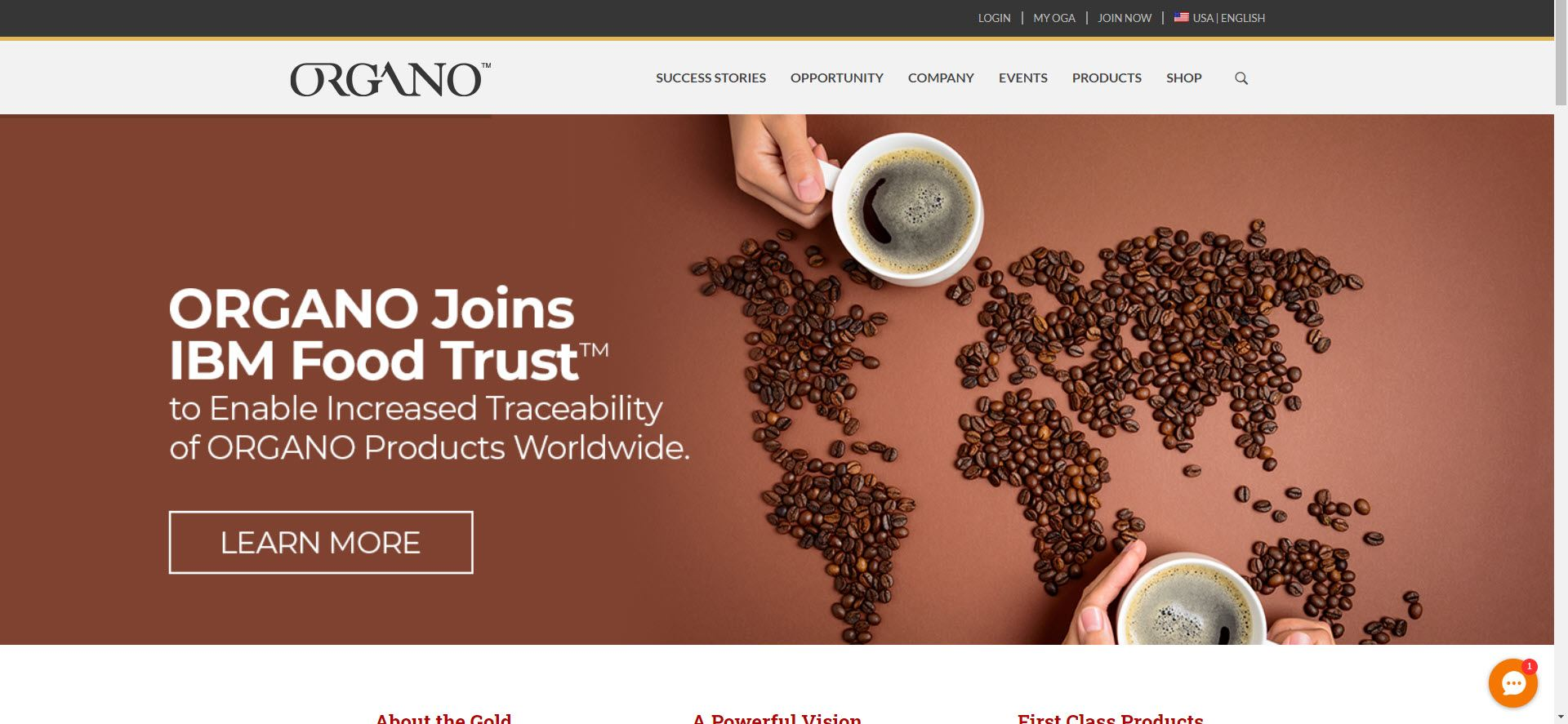 Organo MLM Review - Home
