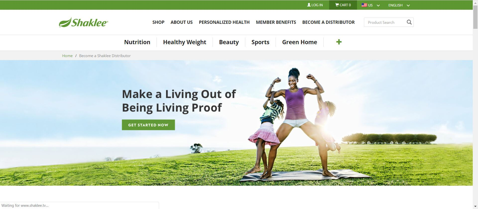 Is Shaklee an MLM - opportunity page