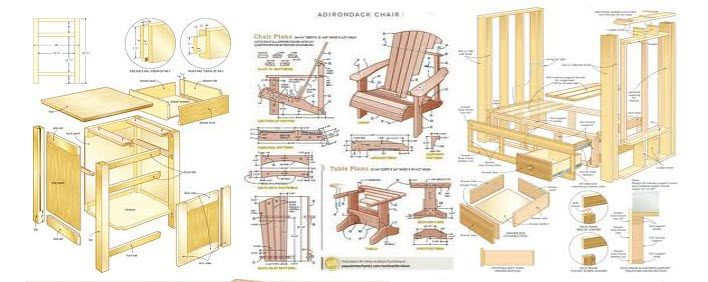 woodworking affiliate programs - furniture and wood craft plans stripe
