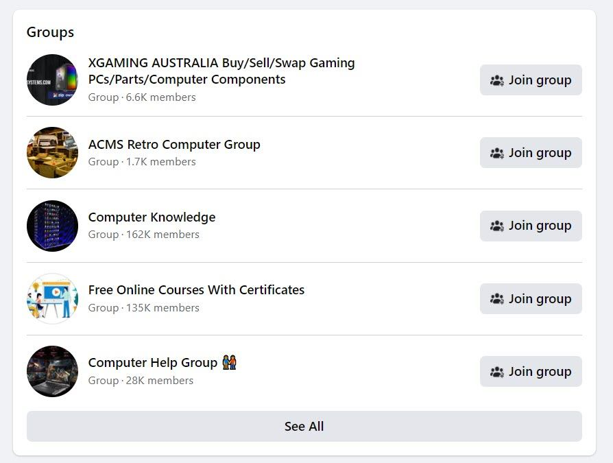 sell computers online - FB
