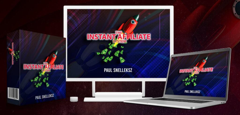 Instant Affiliate system review - logo boxes