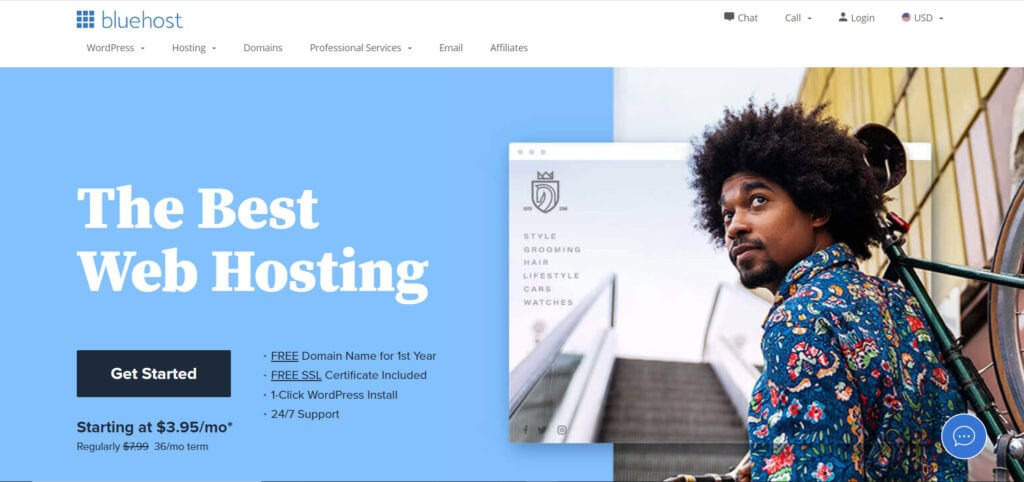 Top Website Hosting Services - Bluehost