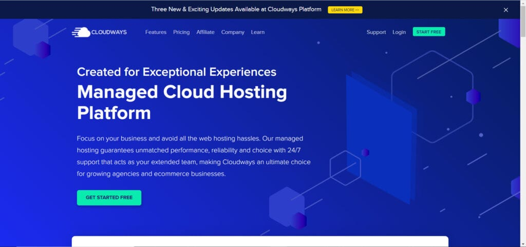 Top Website Hosting Services - Cloudways