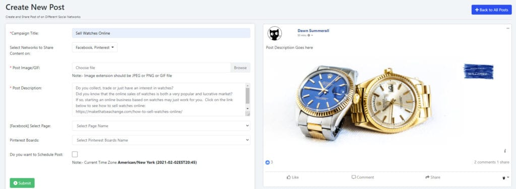 Multisocifit - Watch Campaign