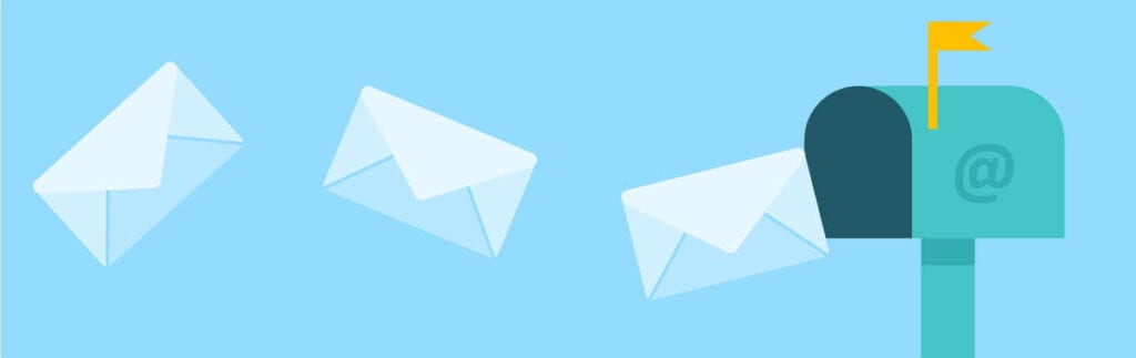 affiliate marketing without a website - email