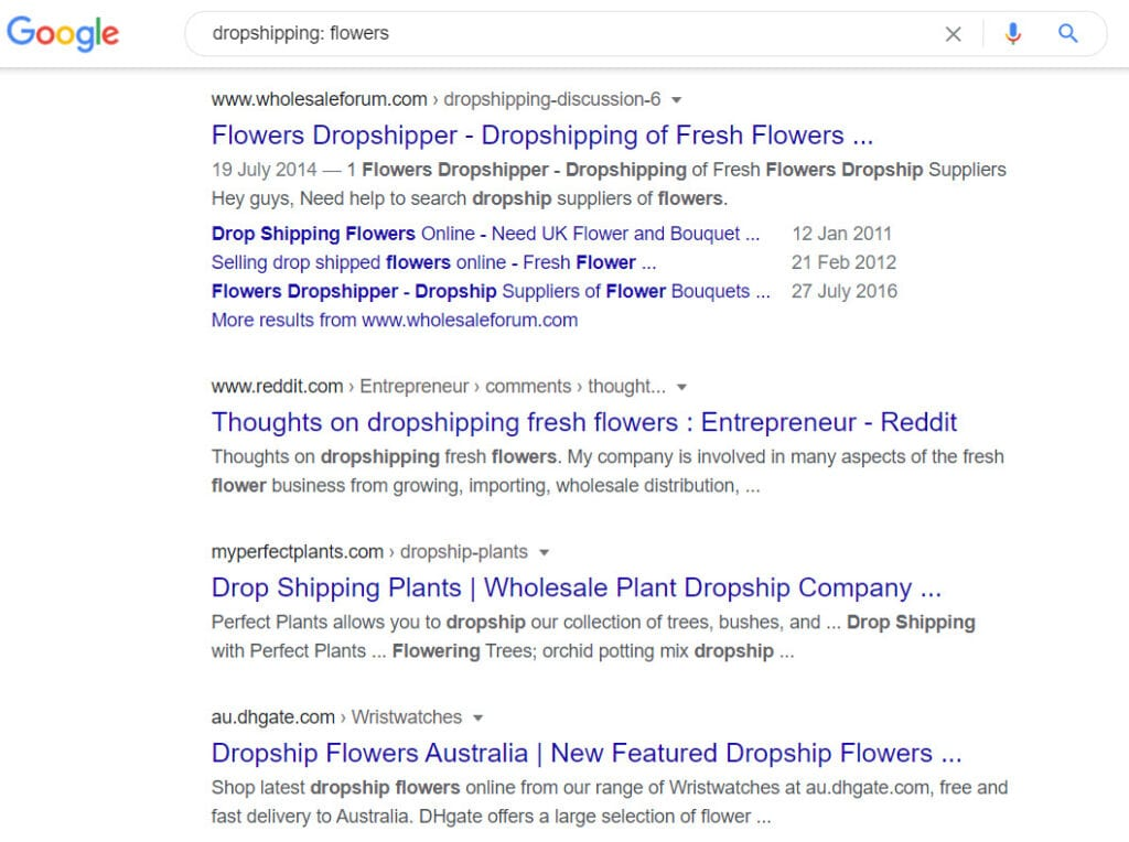 How To Make Money Selling Flowers Online - dropship programs