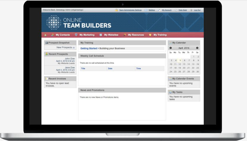 Online Team Builders Review - prospects